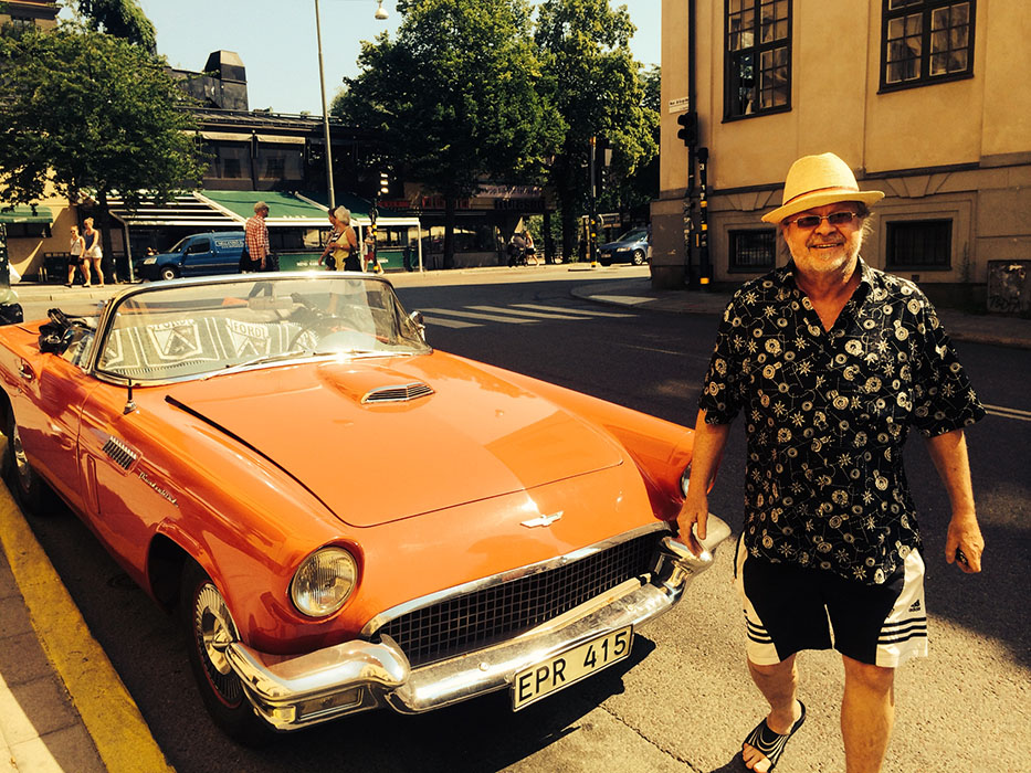 Nice car. Sunny Afternoon in Stockholm 2014.