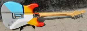 Fender Standard Stratocaster back