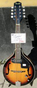 Fender mandolin front.