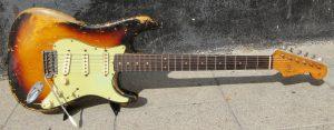 Fender stratocaster front