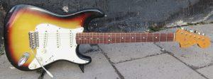 Fender Stratocaster front.