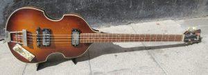 Höfner bass front.