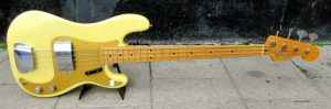 Fender Precision Bass front.