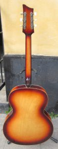 Archtop back.