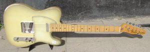 Fender Telecaster Antigua front.