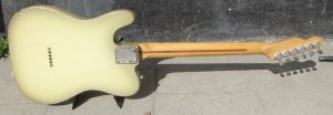 Fender Telecaster Antigua back.