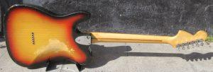 Fender Telecaster Deluxe back.