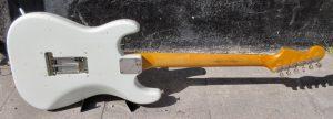 Fender Stratocaster back