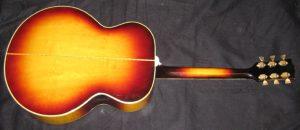 Gibson J 200 back.