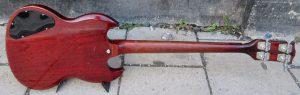 Gibson bass back.