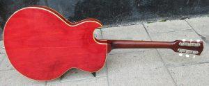 Gibson ES125 back.