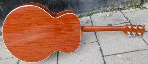 Gibson J200 CS back.
