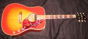Gibson Hummingbird front.