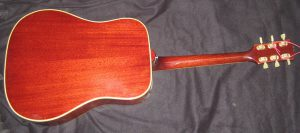 Gibson Hummingbird back