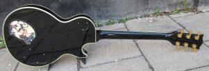Gibson Les Paul Custom back.