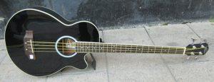 Oscar Schmidt Bass front.
